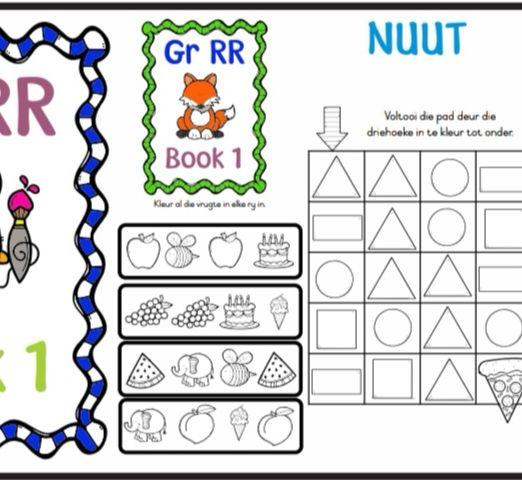 Gr RR activity book